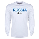 Russia Euro 2016 Core LS T-Shirt (White)