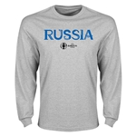 Russia Euro 2016 Core Long Sleeve T-Shirt (Gray)