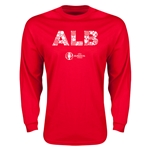 Albania Euro 2016 Elements LS T-Shirt (Red)