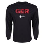 Germany Euro 2016 Element Long Sleeve T-Shirt (Black)