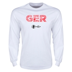 Germany Euro 2016 Element Long Sleeve T-Shirt (White)