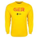 Germany Euro 2016 Elements LS T-Shirt (Yellow)