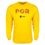 Portugal Euro 2016 Elements LS T-Shirt (Yellow)
