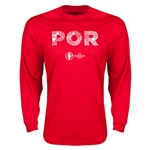 Portugal Euro 2016 Elements LS T-Shirt (Red)