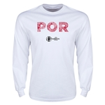 Portugal Euro 2016 Elements LS T-Shirt (White)