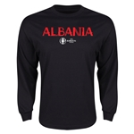Albania Euro 2016 Core LS T-Shirt (Black)