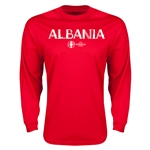 Albania Euro 2016 Core LS T-Shirt (Red)