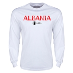 Albania Euro 2016 Core Long Sleeve T-Shirt (White)