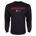 Germany Euro 2016 Core LS T-Shirt (Black)