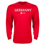 Germany Euro 2016 Core Long Sleeve T-Shirt (Red)