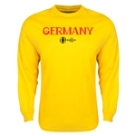 Germany Euro 2016 Core Long Sleeve T-Shirt (Yellow)