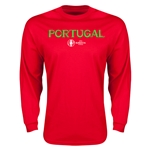 Portugal Euro 2016 Core Long Sleeve T-Shirt (Red)