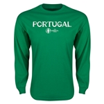 Portugal Euro 2016 Core Long Sleeve T-Shirt (Green)