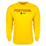 Portugal Euro 2016 Core LS T-Shirt (Yellow)