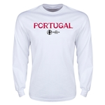 Portugal Euro 2016 Core LS T-Shirt (White)