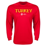 Turkey Euro 2016 Core Long Sleeve T-Shirt (Red)
