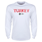 Turkey Euro 2016 Core Long Sleeve T-Shirt (White)
