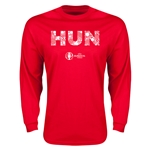 Hungary Euro 2016 Element Long Sleeve T-Shirt (Red)