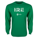 Ireland Euro 2016 Element Long Sleeve T-Shirt (Green)