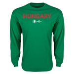 Hungary Euro 2016 Core Long Sleeve T-Shirt (Green)
