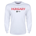 Hungary Euro 2016 Core Long Sleeve T-Shirt (White)