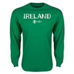 Ireland Euro 2016 Core Long Sleeve T-Shirt (Green)