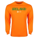 Ireland Euro 2016 Core Long Sleeve T-Shirt (Orange)