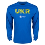 Ukraine Euro 2016 Elements LS T-Shirt (Royal)