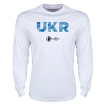 Ukraine Euro 2016 Elements LS T-Shirt (White)