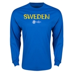 Sweden Euro 2016 Core LS T-Shirt (Royal)