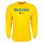 Sweden Euro 2016 Core Long Sleeve T-Shirt (Yellow)