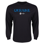 Ukraine Euro 2016 Core Long Sleeve T-Shirt (Black)