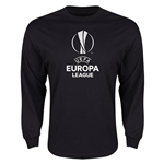 UEFA Europa League LS T-Shirt (Black)