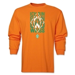 Werder Bremen I Am Green and White LS T-Shirt (Orange)