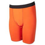 Men's Compression Short-9 inseam (Neon Orang)
