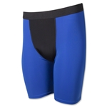 Men's Two-Tone Compression Short (Roy/Blk)