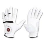 Barcelona Golf Glove with Ball Marker (White)