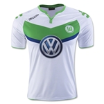 Wolfsburg 15/16 Authentic Home Soccer Jersey
