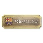 Barcelona 6 x 17 Wood Sign