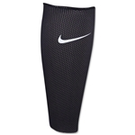 Nike Guard Lock Shin Guard Sleeves (Black/White)