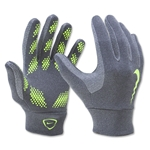 Nike Youth Hyperwarm Field Player Glove (Dk Gray)