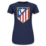Atletico Madrid Core Junior Women's T-Shirt (Navy)