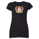 Bayer 04 Leverkusen Junior Women's T-Shirt (Black)