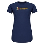 Copa America Centenario USA 2016 Junior Women's T-Shirt (Navy)  Junior Women's T-Shirt (Navy)