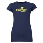 CONCACAF Gold Cup 2015 Junior Women's T-Shirt (Navy)