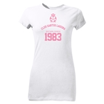 Santos Laguna 1983 Junior Women's T-Shirt (White)