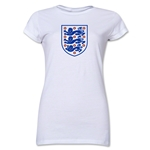 England Core Junior Women's T-Shirt (White)