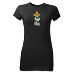 1970 FIFA World Cup Juanito Mascot Junior Women's T-Shirt (Black)