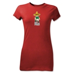 1970 FIFA World Cup Juanito Mascot Junior Women's T-Shirt (Red)