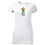 1970 FIFA World Cup Juanito Mascot Junior Women's T-Shirt (White)